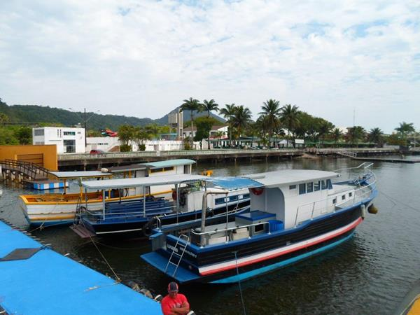 Pescaria no Parcel Dom Pedro e Parcel dos Reis