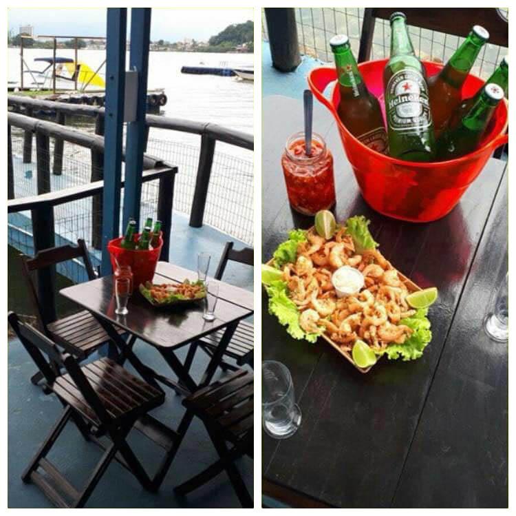 Bar com vista para o mar em São Vicente